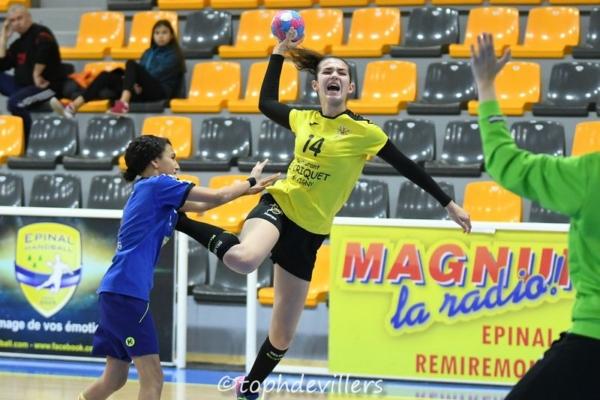 2018-11-25 Region U15F Epinal VS Villers Hb Club 13-35 (1)