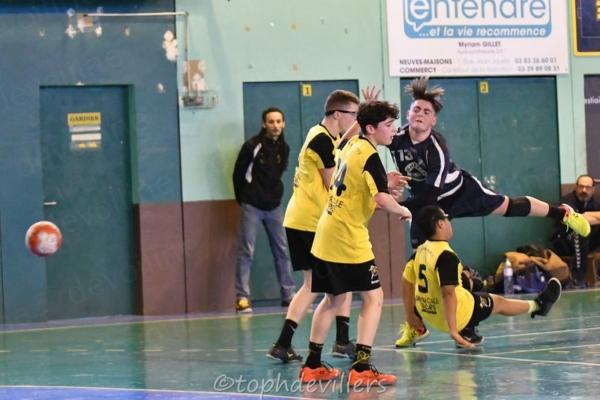 2019-02-09 Region U15G Villers Hb Club VS Luneville 41-27 (28)